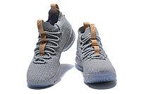 """Баскетбольные кроссовки Nike LeBron XV (15) """"Grey/Ice"""" (40-46), фото 2"""