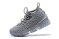 """Баскетбольные кроссовки Nike LeBron XV (15) """"Grey/Ice"""" (40-46), фото 3"""
