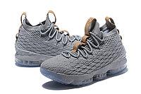 """Баскетбольные кроссовки Nike LeBron XV (15) """"Grey/Ice"""" (40-46), фото 4"""