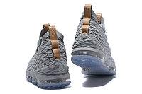 """Баскетбольные кроссовки Nike LeBron XV (15) """"Grey/Ice"""" (40-46), фото 5"""