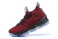 "Баскетбольные кроссовки Nike LeBron XV (15) ""Vine Red/Black/White"" (40-46), фото 3"