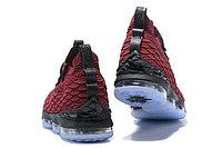 "Баскетбольные кроссовки Nike LeBron XV (15) ""Vine Red/Black/White"" (40-46), фото 4"