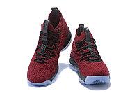 "Баскетбольные кроссовки Nike LeBron XV (15) ""Vine Red/Black/White"" (40-46), фото 5"