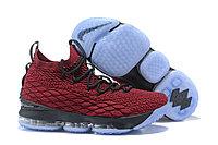 "Баскетбольные кроссовки Nike LeBron XV (15) ""Vine Red/Black/White"" (40-46)"