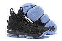 "Баскетбольные кроссовки Nike LeBron XV (15) ""Black/Gold/Ice"" (40-46)"