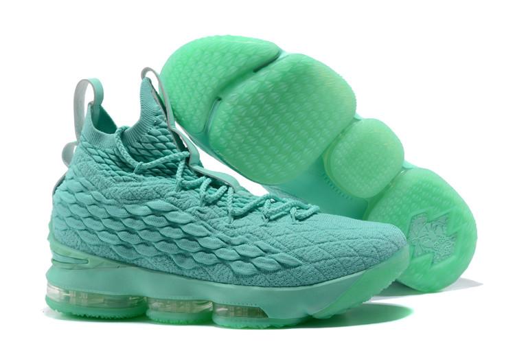 """Баскетбольные кроссовки Nike LeBron XV (15) """"Mint"""" (40-46)"""