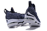 "Баскетбольные кроссовки Nikе LeBron XV (15) ""Navy Blue/White"" Zipper (40-46), фото 3"