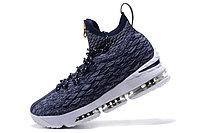 "Баскетбольные кроссовки Nikе LeBron XV (15) ""Navy Blue/White"" Zipper (40-46), фото 6"
