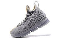 """Баскетбольные кроссовки Nike LeBron XV (15) """"Pure Platinum"""" Zipper (40-46), фото 2"""