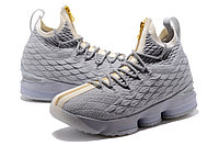 """Баскетбольные кроссовки Nike LeBron XV (15) """"Pure Platinum"""" Zipper (40-46), фото 3"""