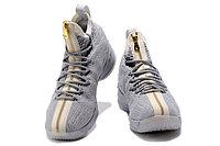 """Баскетбольные кроссовки Nike LeBron XV (15) """"Pure Platinum"""" Zipper (40-46), фото 4"""