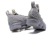 """Баскетбольные кроссовки Nike LeBron XV (15) """"Pure Platinum"""" Zipper (40-46), фото 5"""