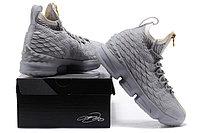 """Баскетбольные кроссовки Nike LeBron XV (15) """"Pure Platinum"""" Zipper (40-46), фото 6"""