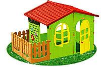 Игровой домик с забором Mochtoys 10839, фото 1