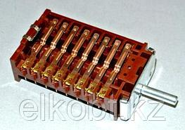 Переключатель электроплиты универсальный   9-позиций 8 гр. Контактов