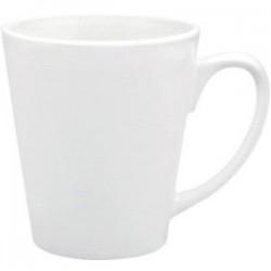 Кружка керамическая белая (Латте) 12 oz