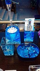 Дозатор для жидкого мыла Синии ракушки