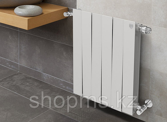 Радиатор биметаллический Royal Thermo PianoForte Bianco 500/100 185 Вт/сек., фото 2