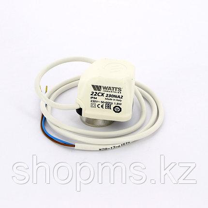 Сервопривод для коллектора WATTS 230V VTA22C230NA2 нормально открытый арт. 10029674, фото 2