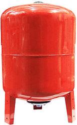 Гидроаккумулятор (расширительный бак) 100 вертикальный (красный)