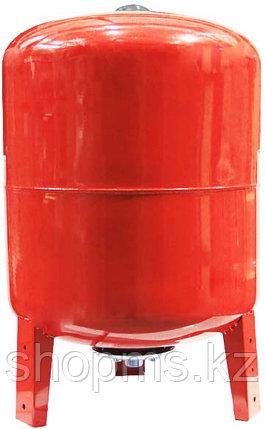 Гидроаккумулятор (расширительный бак) 100 вертикальный (красный) Wester Line , фото 2