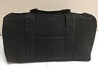 Дорожная сумка из текстиля(джинса).Высота 30 см, длина 55 см, ширина 23 см., фото 1