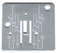 Игольная пластина к швейным машинам Janome 415, 419s, 423s