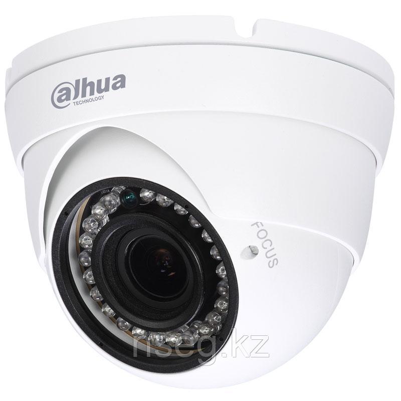 2Мп купольная HD-CVI камера с ИК-подсветкой до 30м. Dahua HAC-HDW1200RP-VF-2712-S3