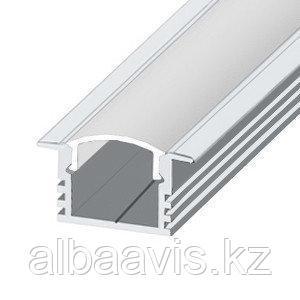 Светодиодный профиль ЛПВ12 Профиль алюминиевый, анодированный, цвет - серебро