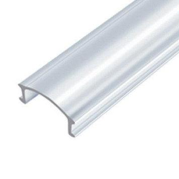 Рассеиватель прозрачный, поликарбонат для светодиодного профиля ЛРП