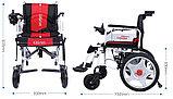 Инвалидная коляска электр.,30 Кг, COSIN COLOR 180F-1, 24v 500w (2*250w). Аккум. гелевый 24v 12A/H., фото 2