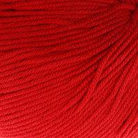 Пряжа 'Baby Cotton' 60 хлопок, 40 акрил 165м/50гр (3439 красный) (комплект из 5 шт.)
