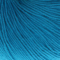Пряжа 'Baby Cotton' 60 хлопок, 40 акрил 165м/50гр (3428 синий) (комплект из 5 шт.)