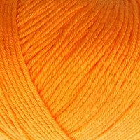 Пряжа 'Baby Cotton' 60 хлопок, 40 полиакрил 165м/50гр (3416 оранжев.) (комплект из 5 шт.)