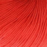 Пряжа 'Baby Cotton' 60 хлопок, 40 полиакрил 165м/50гр (3418  коралловый) (комплект из 5 шт.)