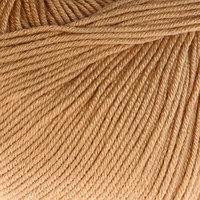 Пряжа 'Baby Cotton' 60 хлопок, 40 полиакрил 165м/50гр (3424 бежев.) (комплект из 5 шт.)