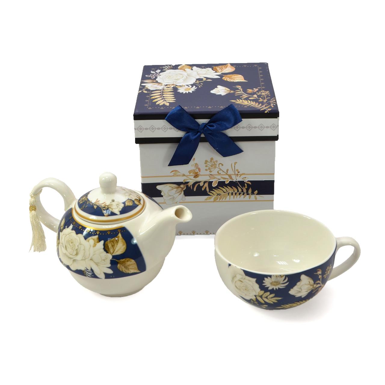 Подарочный набор чайник пиала