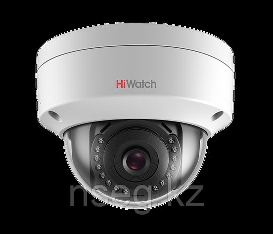 HiWatch DS-I102 1Мп уличная купольная IP камера с ИК-подсветкой до 30м, фото 2