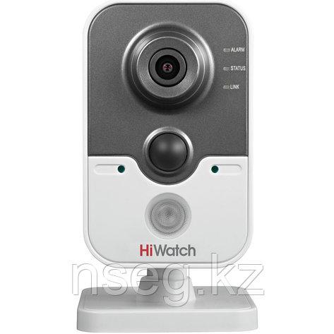 HiWatch DS-I114 1Мп внутренняя кубическая IP камера с ИК-подсветкой до 10м, фото 2