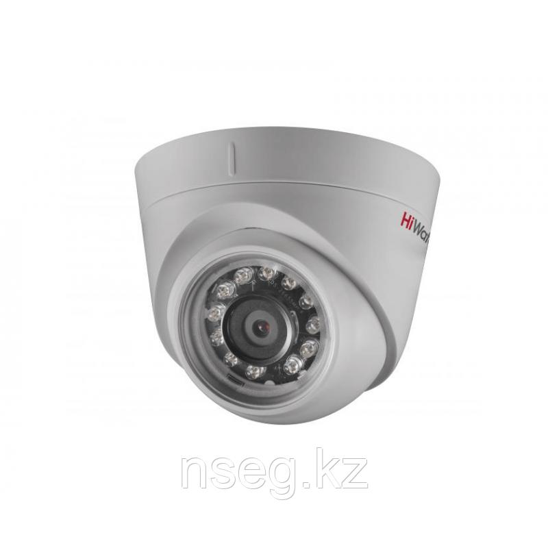 HiWatch DS-I223 2Мп внутренняя купольная IP камера с ИК-подсветкой до 10м.
