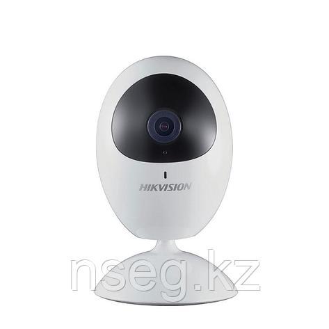 HIKVISION DS-2CV2U01FD-IW/64GB-T 1Мп уличная цилиндрическая IP камера с ИК-подсветкой до 30м., фото 2