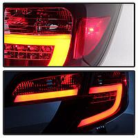 Задняя альтернативная оптика Camry V50 2011-14 Red color