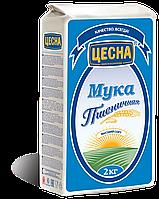 Мука Цесна пшеничная высшего сорта 2 кг