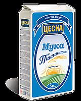 Мука Цесна пшеничная высшего сорта 3 кг