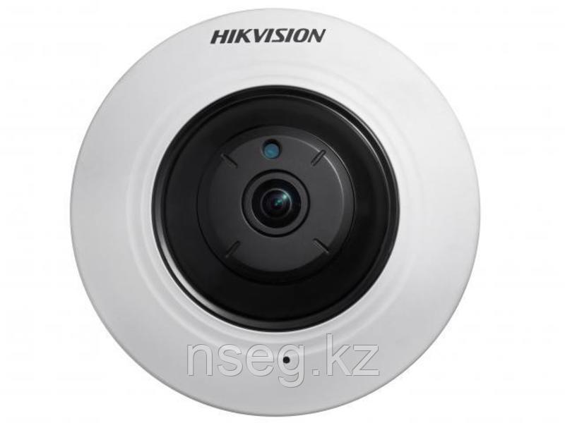 HIKVISION DS-2CD2942F-IWS 4Мп купольная Wi-Fi IP камера с ИК-подсветкой до 10м.