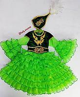 Казахское национальное платье для девочек
