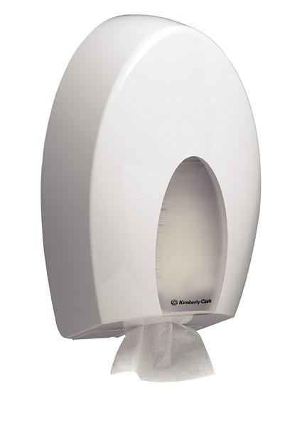 Kimberly Clark диспенсер для листовой туалетной бумаги Aqua 6975