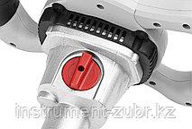 Миксер ЗУБР ЗМР-1200Э-1 строительный, 2-скоростной, 1200 Вт, 0-620 / 0-810 об/мин, М14 патрон, фото 2