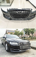 Обвес S8 на Audi A8 рестайлинг 2014+ (D4)