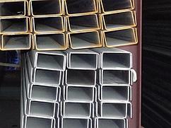 Швеллер гнутый 100х50x4 ст.09Г2С-14 09Г2 10Г2 легированный ГОСТ 8278-83